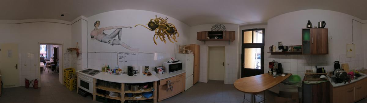 Küche im Netz39, Photo von Frank Zisko, 2013, Lizenz: CC-BY-SA-3.0