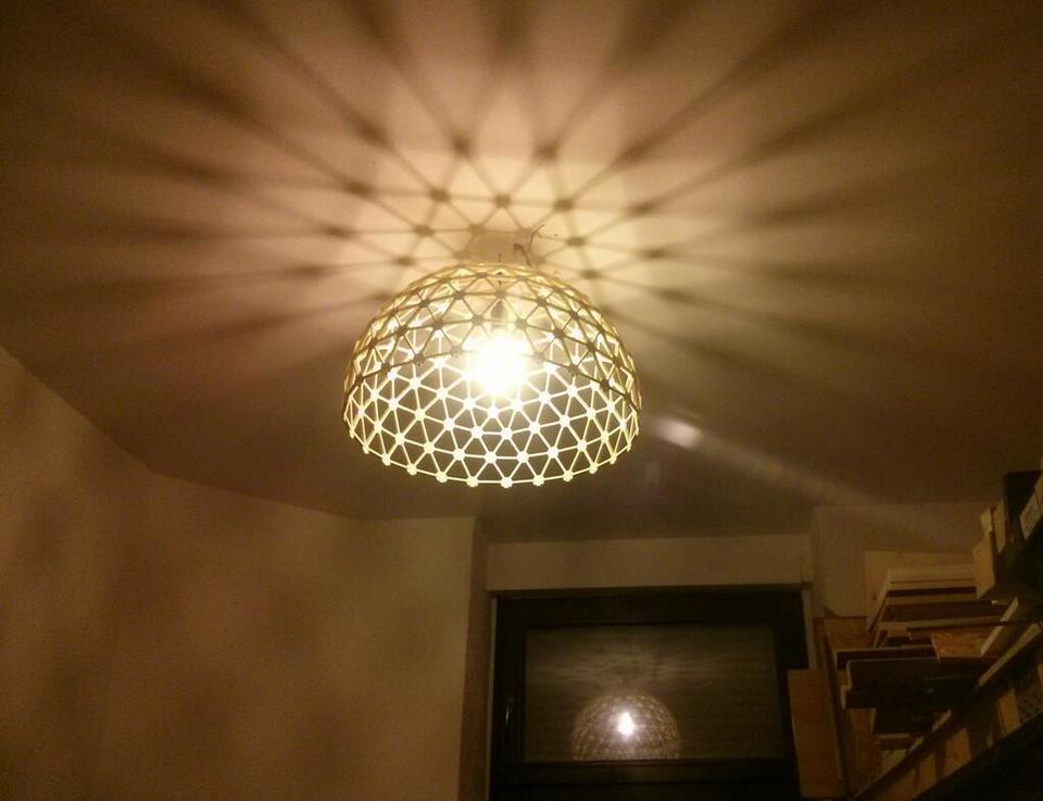 Geodätische Werkstattlampe.