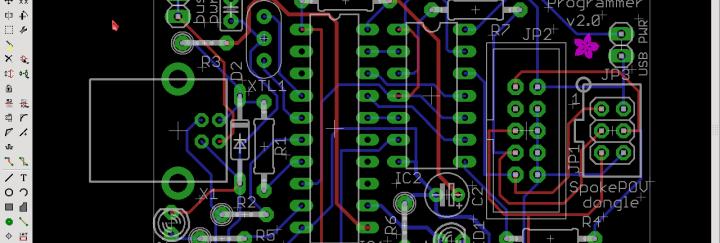 Screenshot of original Board Layout
