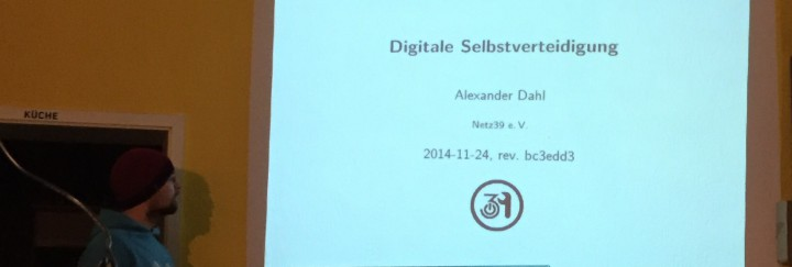 Vortrag »Digitale Selbstverteidigung«