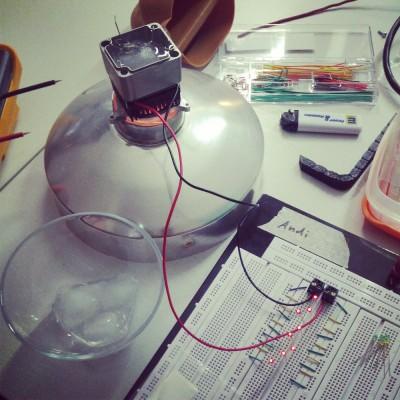 Peltierelemente und LEDs