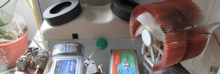 Akustikkoppler, FM-Radio, CPU-Kühler, …